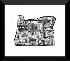 Oregon - BLACK