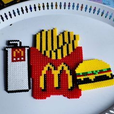 McDonalds hama beads by parl_artist
