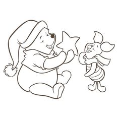 Looking for a Winnie Coloriage A Imprimer. We have Winnie Coloriage A Imprimer and the other about Gratuit Coloriage it free. Disney Coloring Pages, Christmas Coloring Pages, Colouring Pages, Adult Coloring Pages, Coloring Pages For Kids, Coloring Sheets, Coloring Books, Winnie The Pooh Christmas, Disney Christmas