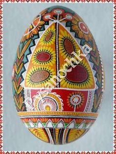 Beautiful Pysanky from well-known western Ukraine artist Halyna Kovalenko . The artist uses traditional painting technique (bee wax, kistka and batik technique). She creates unique compositions based