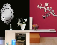 Design Wall Decal   With Others Wall Mirror Stickers By Tonka Design 5 554x436