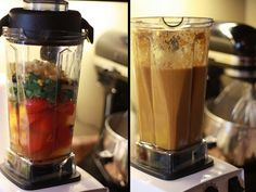 Make steaming hot soups with your VitaMix blender.  Ingredient summaries to 57 VitaMix Soup Recipes.  Recipes are grouped into vegetable soups, cream soups, cold soups and soups with meat.