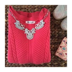Brand New Lovely Sweater   55% Cotton   20% Viscose   18% Polyamide   7% Rabbit Hair   Juicy Couture Sweaters Crew & Scoop Necks