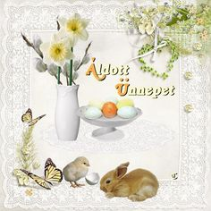 Jesus Resurrection, Happy Easter, Projects To Try, Place Card Holders, Table Decorations, Holiday, Flowers, Akira, Google
