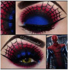 Spider man make up