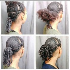 how staying fit affects hair growth bantu knots natural