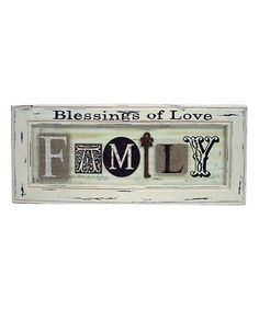 DesMa Blessings of Love Mixed Media Wall Art | zulily