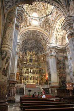 Granada, Spain - Monastery of San Jeronimo - Off the beaten track but well worth the detour. (Click on the photo to get the full scope and breath of it)