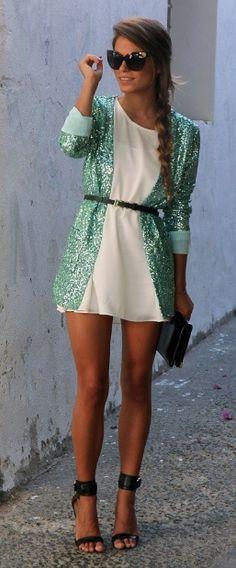 emerald green jacket