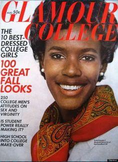 A GLAMOUR magazin címlapján szerepelt először fekete nő Amerikában Jacqueline Bisset, Candice Bergen, Jean Shrimpton, Black Magazine, Cool Magazine, Lauren Hutton, Catherine Deneuve, Twiggy, Women In History
