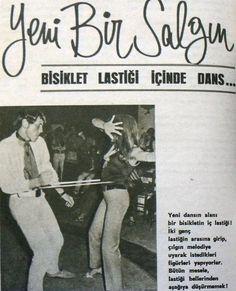 ''yeni bir Salgın!: Bisiklet lastiği içinde dans!'' #eskihaberler #istanbul #istanlook