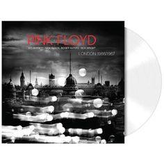 """L'album dei #PinkFloyd intitolato """"Live In London 66'-'67"""" su vinile bianco 180 gr con copertina rigida cartonata gatefold. Edizione limitata."""