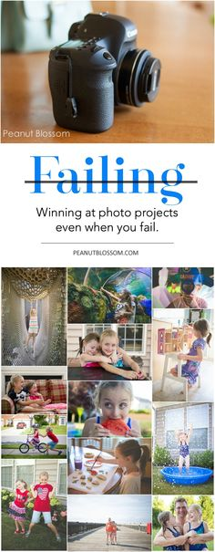 Have you been nervous to start a creative photography project because of fear of failure? Look what fantastic thing happened when this mom failed and only got 16 out of 100 images for a challenge!