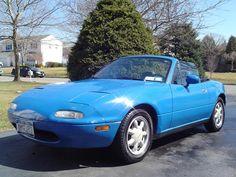 i love my blue Mazda Miata