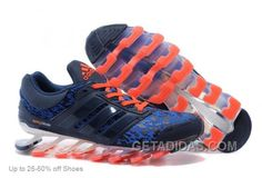 buy online c00c0 2c274 Adidas Men s Running Shoes Springblade Drive 3 Leopard Blue Orange Lastest,  Price   72.00 - Adidas Shoes,Adidas Nmd,Superstar,Originals