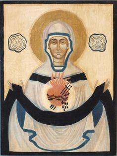 Matka Boża Zranione Serce przez Szyszko.