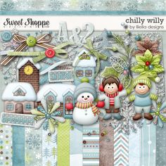 Chilly Willy by lliella designs
