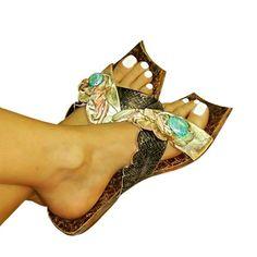 Dilos 4 quadra - flat sandal Greek Sandals, Flat Sandals, Shoes Sandals, Flats, Wedges, Beautiful, Fashion, Loafers & Slip Ons, Moda
