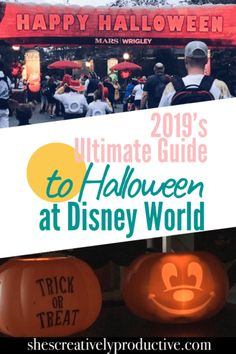 Ultimate Guide to Halloween at Disney World - She's Creatively Productive Disney World Tickets, Disney World Florida, Disney World Trip, Disney Travel, Halloween Around The World, Disney World Halloween, Scary Halloween, Halloween Party, Disney On A Budget
