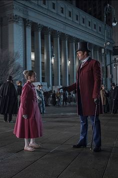 Hugh Jackman and Michelle Williams in The Greatest Showman (2017)
