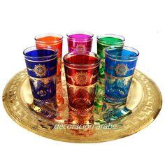 Arabic style glasses for tea