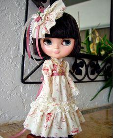 Blythe Blythe Dress Blythe boho Blythe by TheDollsDresser on Etsy, $59.95