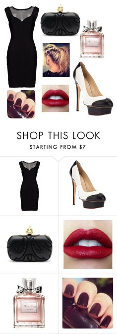 Good girls love bad boys by mar-01 on Polyvore featuring moda, AFTERSHOCK, Charlotte Olympia, Alexander McQueen, Christian Dior and Lancôme