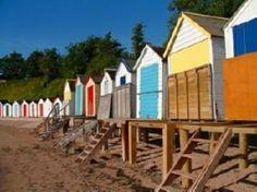 Beach Hut in Torquay, South Devon Devon Uk, Devon England, South Devon, Devon And Cornwall, Devon Beach, Torquay Devon, Devon Holidays, Riviera Beach, English Summer