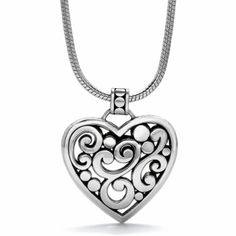 Contempo Heart Necklace available at #BrightonCollectibles