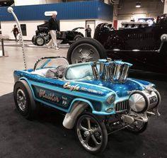 55 Chevy pedal car