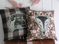 Vintage Rose - Fabric Cushions  Foxy!