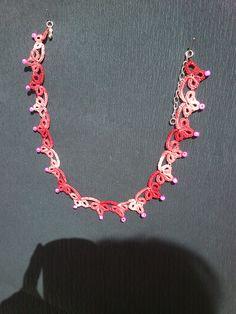frivolitkový náhrdelník