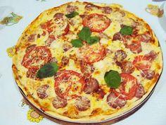 Receita Prato Principal : Pizza de massa de pão de queijo de Culinarista Mauro Rebelo