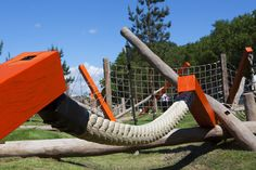 Wooden playground eq