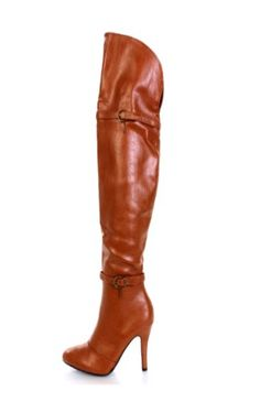 02f2985d6f9 Focuse 35 Tan Women High Heel Stilettoes Over The Knee Tall Boots -- You can