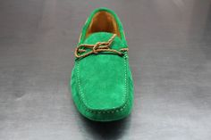 Fane - Rope (Suede) Loafers - Bright Green by Fane Footwear on Young Republic - http://www.youngrepublic.com/men/shoes/rope-suede-loafers-bright-green.html