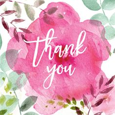 Tickled Pink - Thank you card you can print or send online. Choose from hundreds of thank you cards & thank you notes.