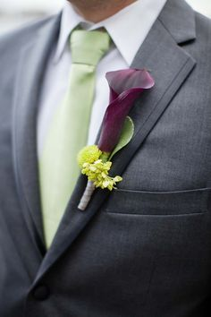 wedding boutonniere; Ashley Bartoletti Photography
