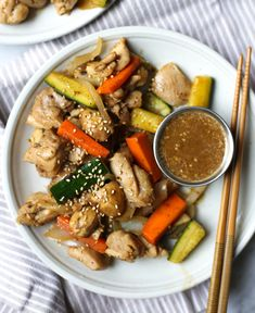 Hibachi Style Chicken with Magic Mustard Sauce – The Defined Dish