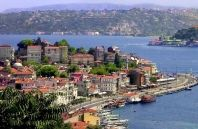 This is Istanbul, Turkey. Istanbul was once called Costantinople. Cool Places To Visit, Places To Travel, Places To Go, Turkey Destinations, Travel Destinations, Places Around The World, Around The Worlds, Turkey Tourism, Turkey Travel