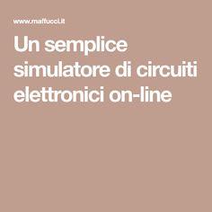 Un semplice simulatore di circuiti elettronici on-line