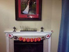 Kansas City Chiefs  Football Banner