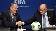 FIFA trusts Brazil to be ready. Aldo Rebelo & Sepp Blatter
