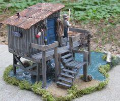 Fishing Shack Diorama