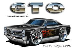 "The very popular Camrao A favorite for car collectors. The Muscle Car History Back in the and the American car manufacturers diversified their automobile lines with high performance vehicles which came to be known as ""Muscle Cars. Cartoon Car Drawing, Cars Cartoon, Cool Car Drawings, Chevy, Car Illustration, Car Posters, Automotive Art, Pontiac Gto, American Muscle Cars"