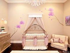 Quarto de bebê lilás da ex-Spice Girl Mel B | Quarto de bebê - Decoração, bebês, gravidez e festa infantil
