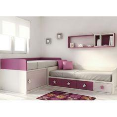 Love this ideas and love on pinterest - Muebles nieto dormitorios juveniles ...