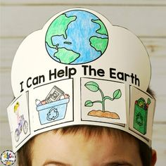 Earth Day Activities (Earth Day Craft, Writing Prompt, Reader & More! Earth Day Preschool Activities, Sorting Activities, Activities For Kids, Earth Craft, Earth Day Crafts, Earth Day Drawing, Earth Day Projects, Fancy Dress For Kids, Happy Earth