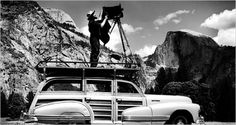 Ansel Adams. Yosemite. (Photo: Courtesy of the Cedric Wright Family).