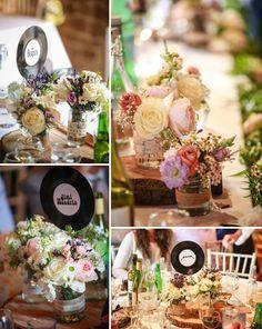 tilly and tom {a simply gorgeous grittenham barn wedding} Catering, Barn, Wedding Ideas, Table Decorations, Weddings, Bride, Flowers, Inspiration, Wedding Bride